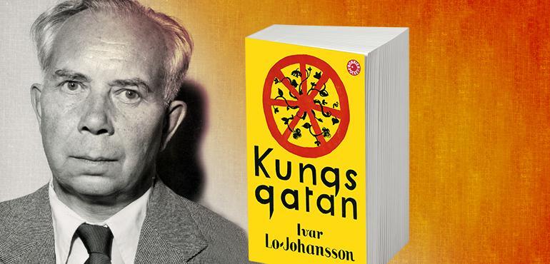 Ivar Lo-Johansson, Susanna Alakoski och Anneli Jordahl med nyutgåvorna av