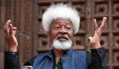 Bild på Wole Soyinka. Foto: Ramesh Sharma/India Today Group/Getty Images